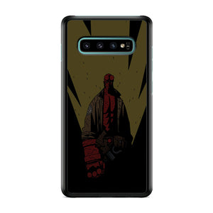 Hellboy Yellow Light Samsung Galaxy S10 Plus Case