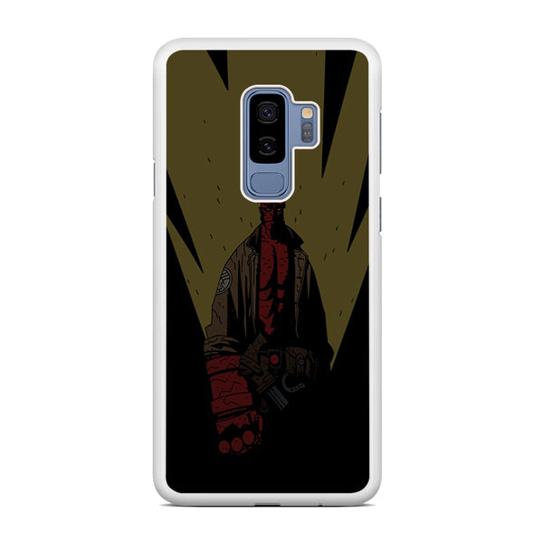 Hellboy Yellow Light Samsung Galaxy S9 Plus Case