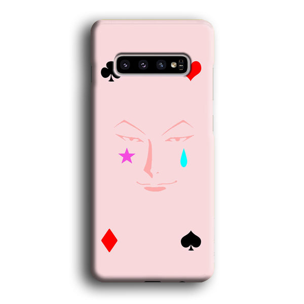 Hunter X Hunter Hisoka Face Card Samsung Galaxy S10 Case