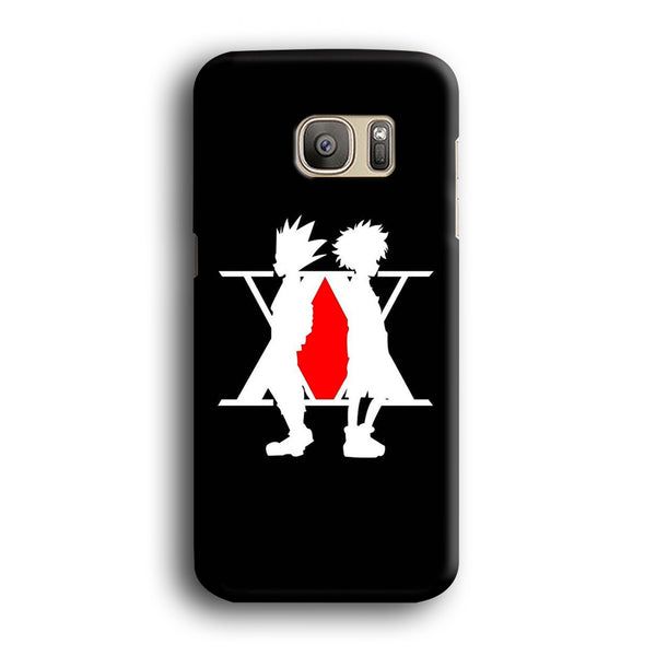 Hunter X Hunter Logo Samsung Galaxy S7 Edge Case