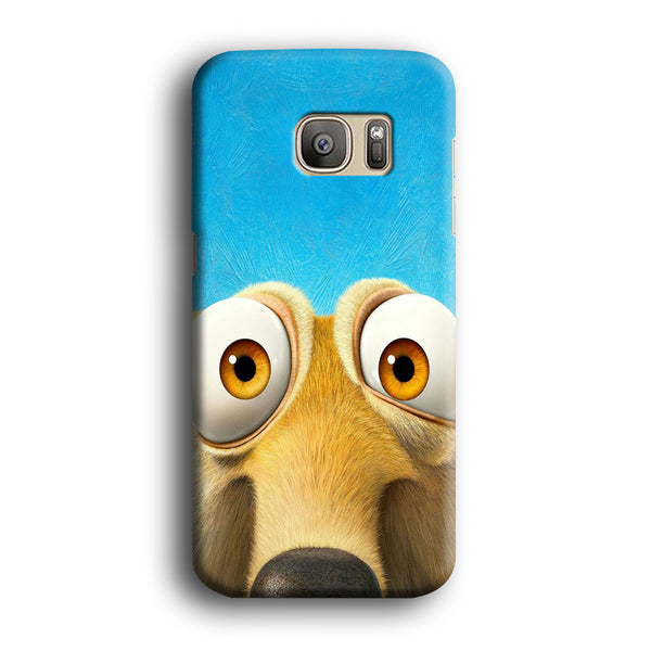 Ice Age Scrat Close Up Samsung Galaxy S7 Edge Case