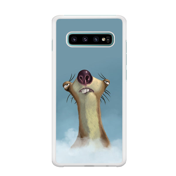 Ice Age Sid Lazy Time Samsung Galaxy S10 Case