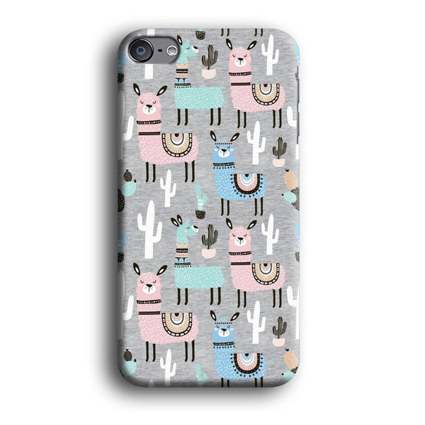 Ilama and Cactus Field iPod Touch 6 Case
