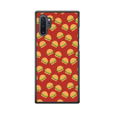 Junk Food Burger Doodle Samsung Galaxy Note 10 Plus Case