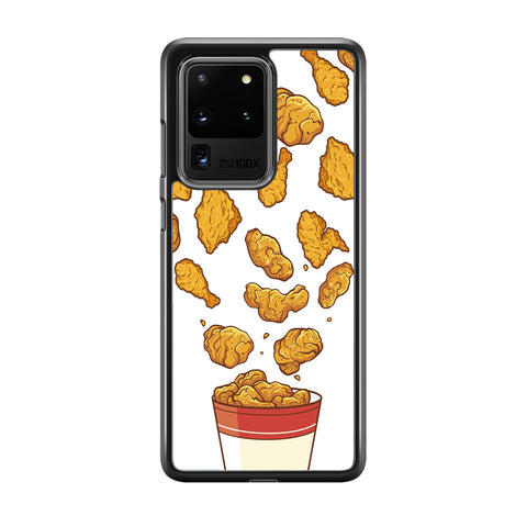 Junk Food Crispy Fried Chicken Samsung Galaxy S20 Ultra Case