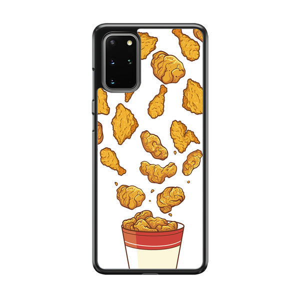 Junk Food Crispy Fried Chicken Samsung Galaxy S20 Plus Case