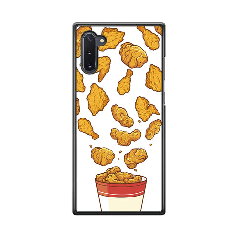 Junk Food Crispy Fried Chicken Samsung Galaxy Note 10 Case