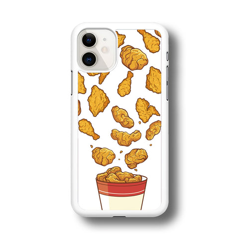 Junk Food Crispy Fried Chicken iPhone 11 Case