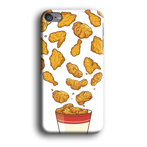 Junk Food Crispy Fried Chicken iPod Touch 6 Case