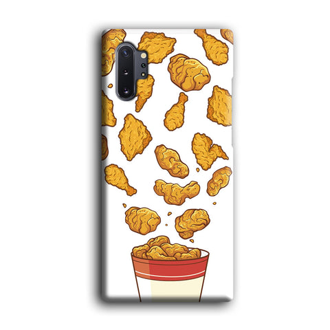 Junk Food Crispy Fried Chicken Samsung Galaxy Note 10 Plus Case