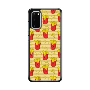 Junk Food Fun Fried Fries Samsung Galaxy S20 Case
