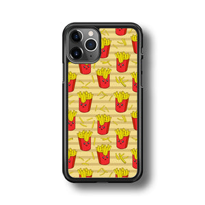 Junk Food Fun Fried Fries iPhone 11 Pro Case