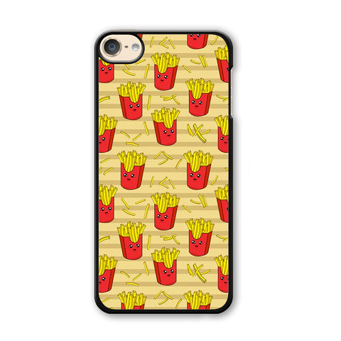Junk Food Fun Fried Fries iPod Touch 6 Case