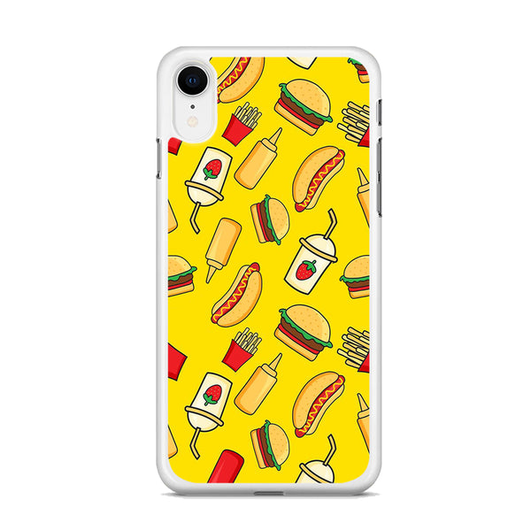 Junk Food Mix iPhone XR Case