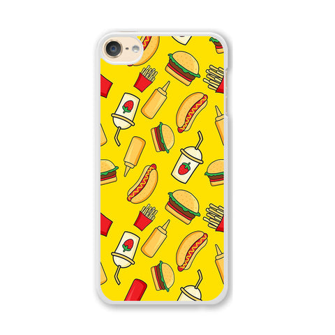 Junk Food Mix iPod Touch 6 Case