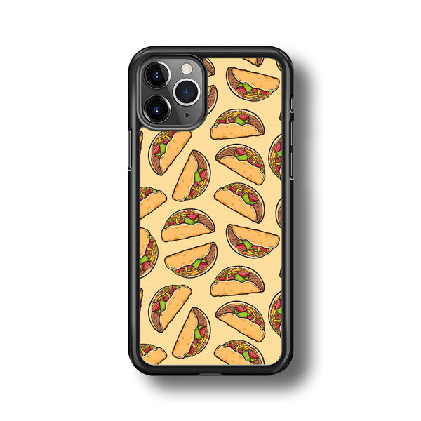 Junk Food Spicy Tacos iPhone 11 Pro Max Case
