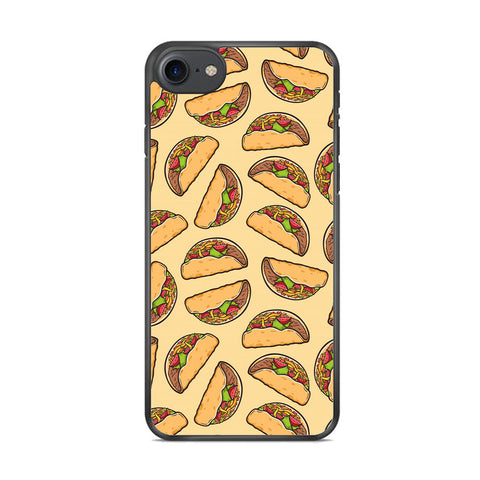Junk Food Spicy Tacos iPhone 7 Case