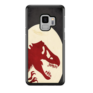 Jurassic Park Red Light Samsung Galaxy S9 Case