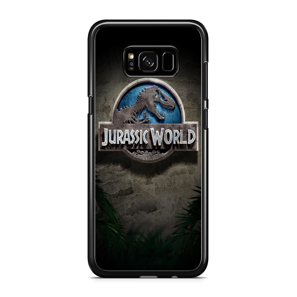 Jurassic World Emblem Samsung Galaxy S8 Plus Case