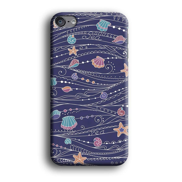 Line in Ocean Life iPod Touch 6 Case