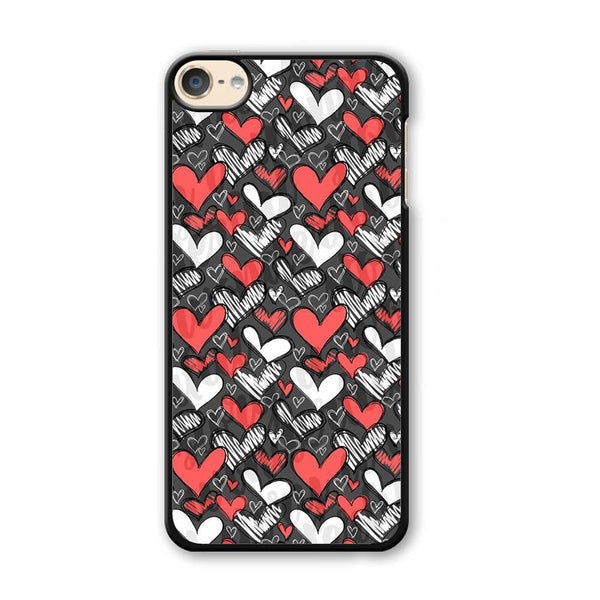 Love Chalk Writing iPod Touch 6 Case