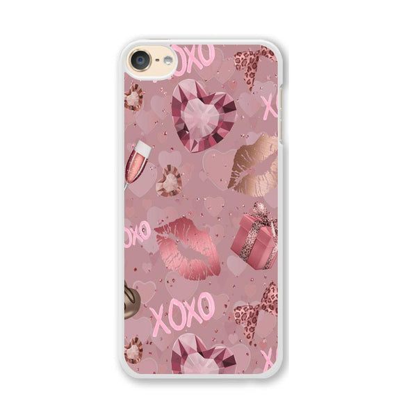 Love Crystal Xoxo Lips iPod Touch 6 Case