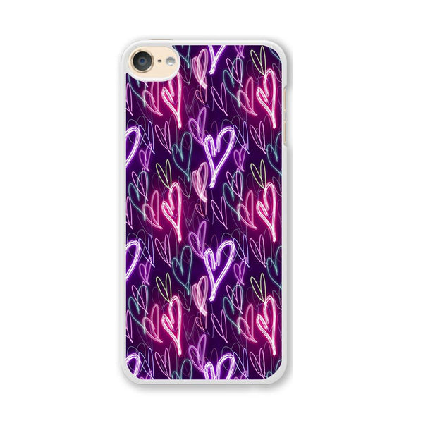 Love Glow in The Dark iPod Touch 6 Case