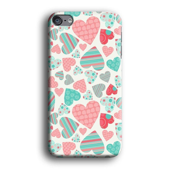 Love in Strip, Rock and Dot iPod Touch 6 Case