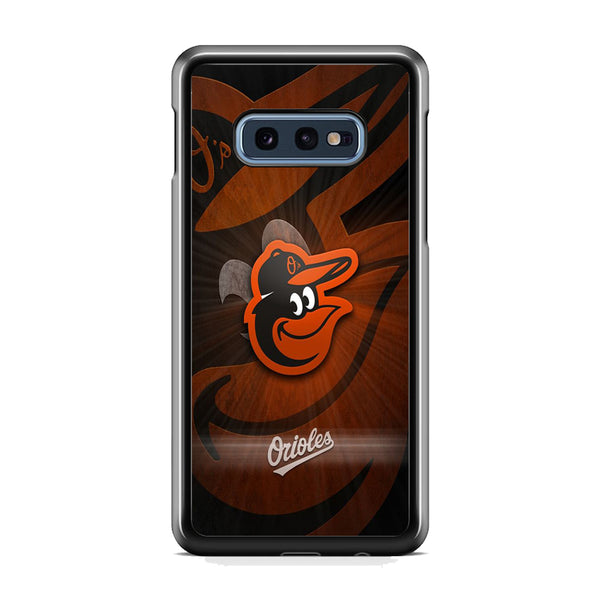 MLB Baltimore Orioles Team Samsung Galaxy S10E Case