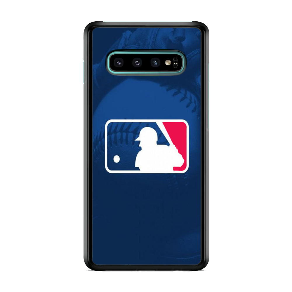 MLB Logo Samsung Galaxy S10 Plus Case