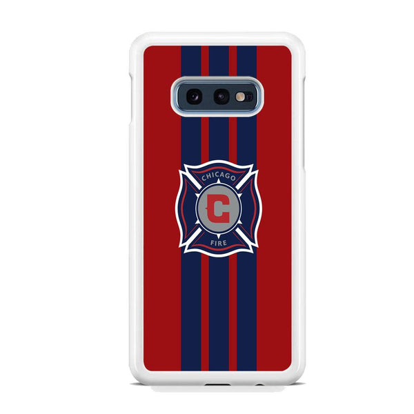 MLS Chicago Fire Stripe Samsung Galaxy S10E Case