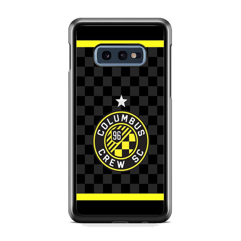 MLS Columbus Crew SC Flags Samsung Galaxy S10E Case