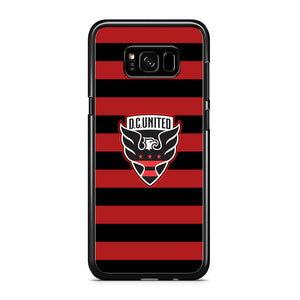MLS DC United Black Red Logo Samsung Galaxy S8 Case