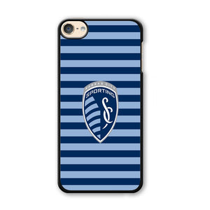 MLS Kansas City Sporting Stripe Blue iPod Touch 6 Case