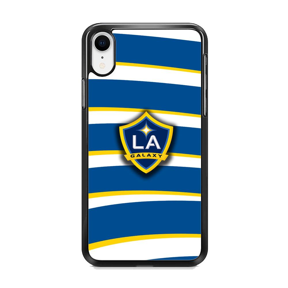 MLS LA Galaxy Logo Wallpaper iPhone XR Case