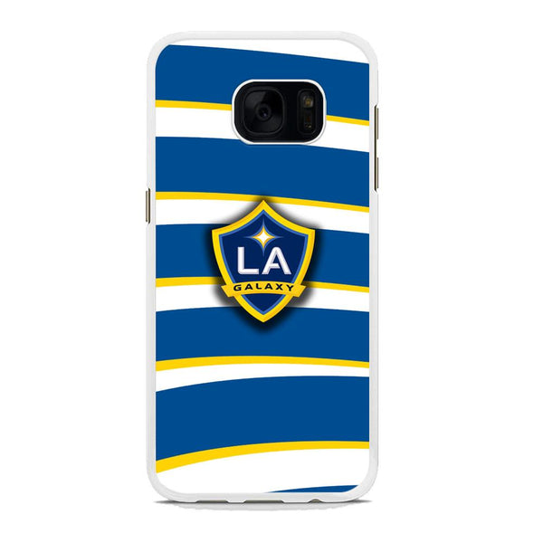 MLS LA Galaxy Logo Wallpaper Samsung Galaxy S7 Case