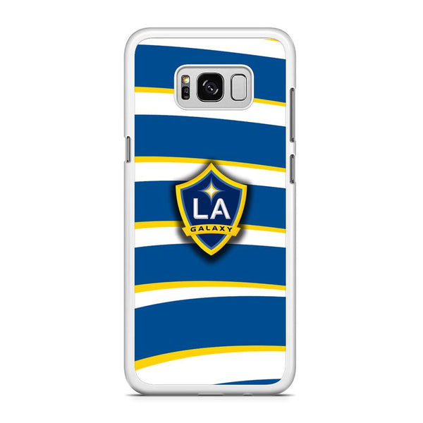 MLS LA Galaxy Logo Wallpaper Samsung Galaxy S8 Plus Case