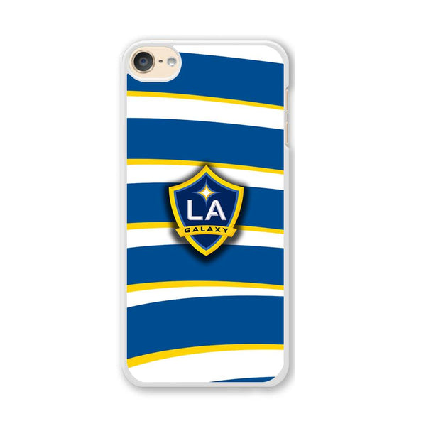 MLS LA Galaxy Logo Wallpaper iPod Touch 6 Case
