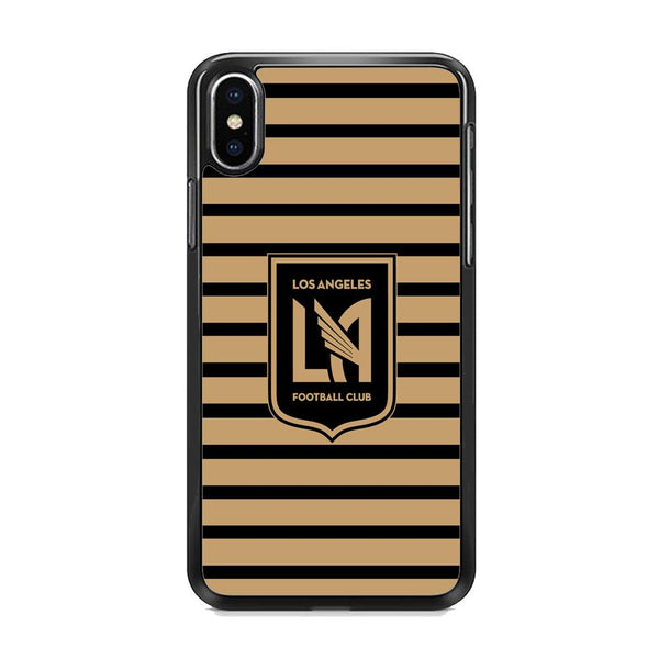 MLS Los Angeles LAFC Black Gold iPhone XS MAX Case