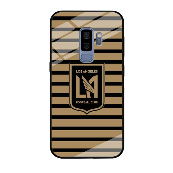 MLS Los Angeles LAFC Black Gold Samsung Galaxy S9 Plus Case