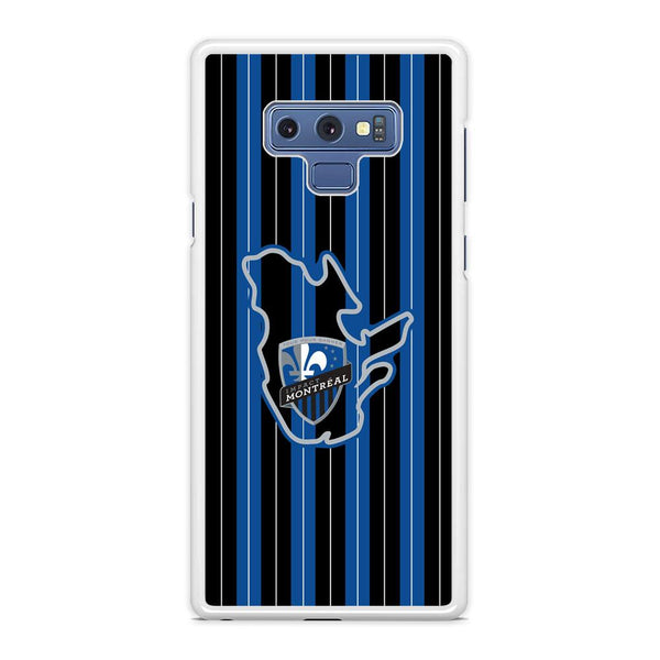 MLS Montreal Fc Black And Blue  Samsung Galaxy Note 9 Case