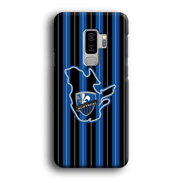 MLS Montreal Fc Black And Blue Samsung Galaxy S9 Plus Case