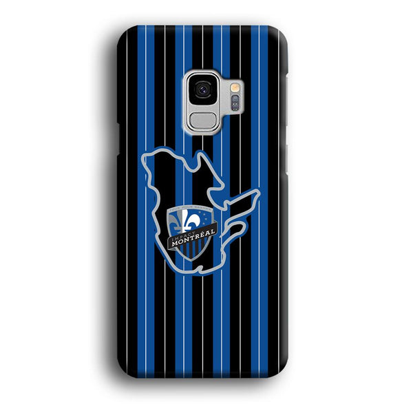 MLS Montreal Fc Black And Blue Samsung Galaxy S9 Case