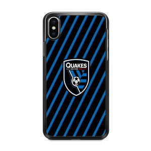 MLS San Jose Quakes Logo iPhone XS Case