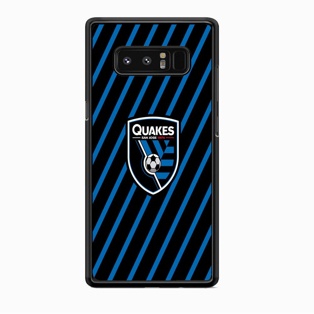 MLS San Jose Quakes Logo Samsung Galaxy Note 8 Case
