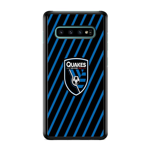 MLS San Jose Quakes Logo Samsung Galaxy S10 Plus Case