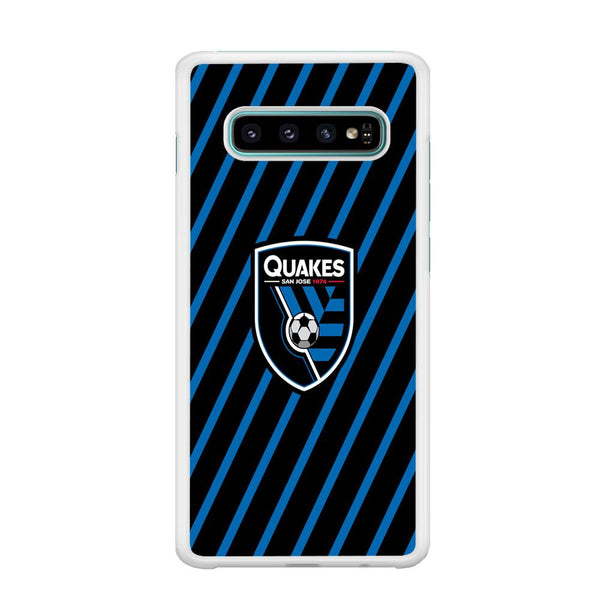 MLS San Jose Quakes Logo Samsung Galaxy S10 Case