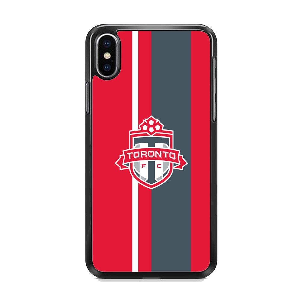 MLS Toronto Fc Red Logo Team iPhone XS MAX Case
