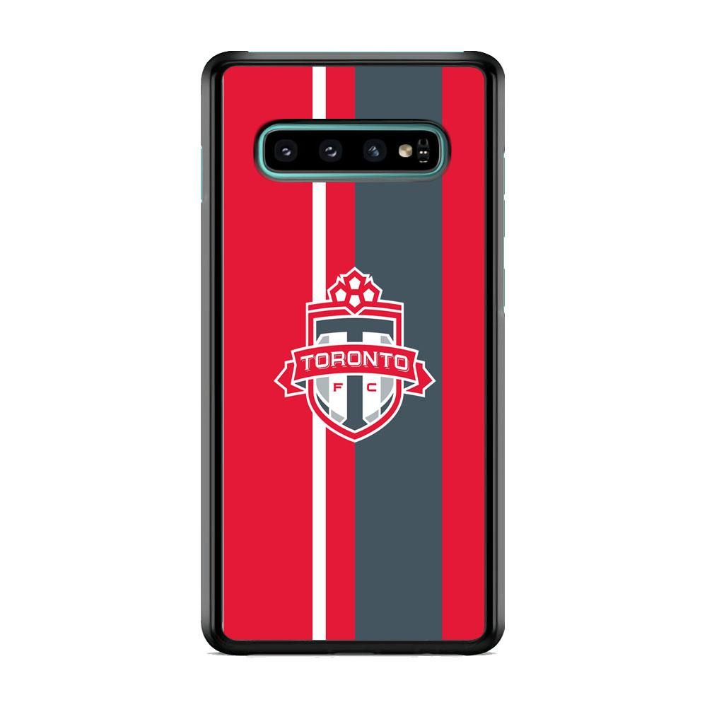 MLS Toronto Fc Red Logo Team Samsung Galaxy S10 Case