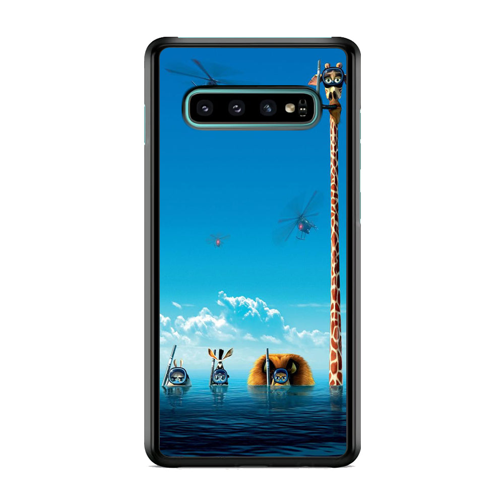 Madagascar Diving Samsung Galaxy S10 Plus Case